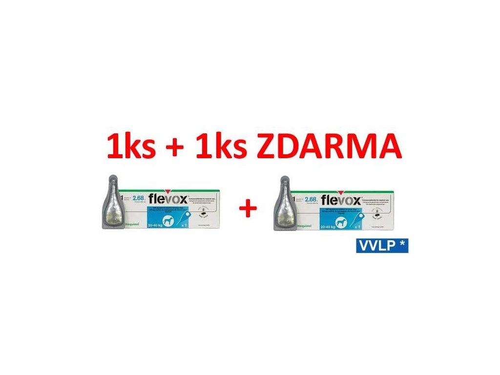 Flevox Spot-on Pes L 20 - 40 kg AKCE 1 + 1 ZDARMA