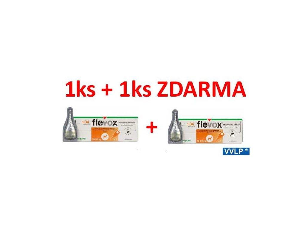 Flevox Spot-on Pes M 10 - 20 kg AKCE 1 + 1 ZDARMA