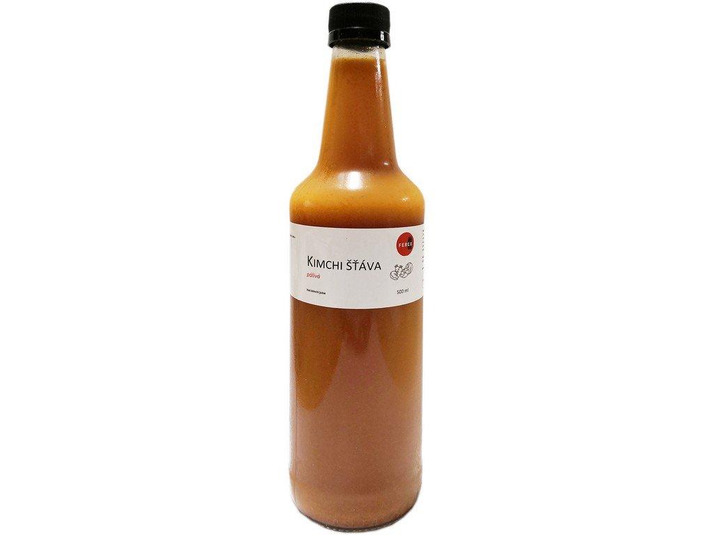 Kimchi šťáva pálivá 500ml
