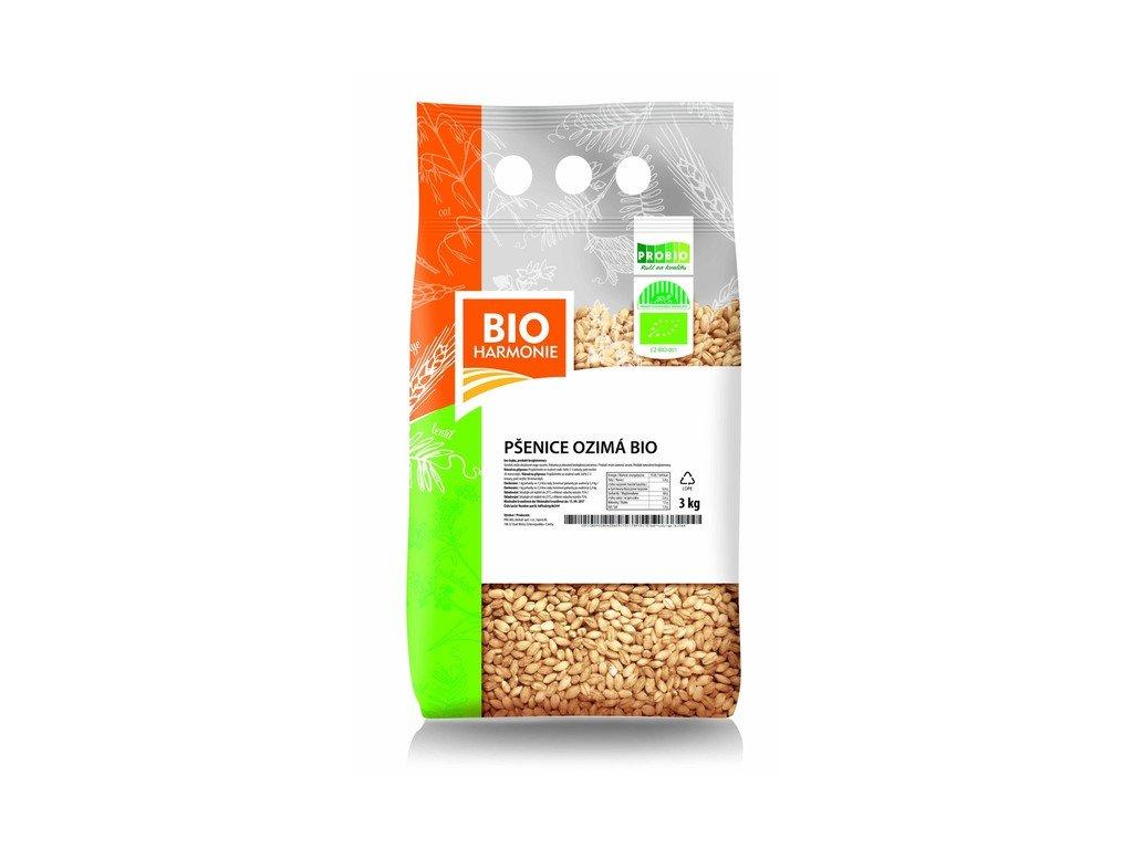 AKCE GASTRO - Pšenice ozimá 3 kg BIO BIOHARMONIE