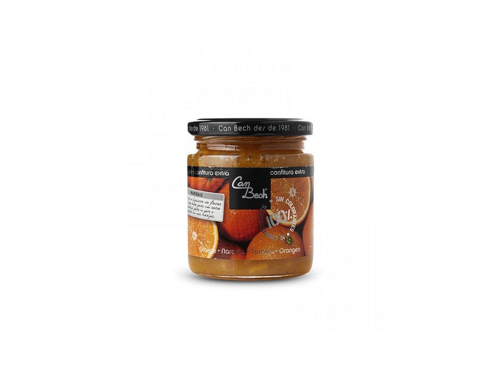 Can Bech Džem ze sladkého pomeranče, sklo 285g