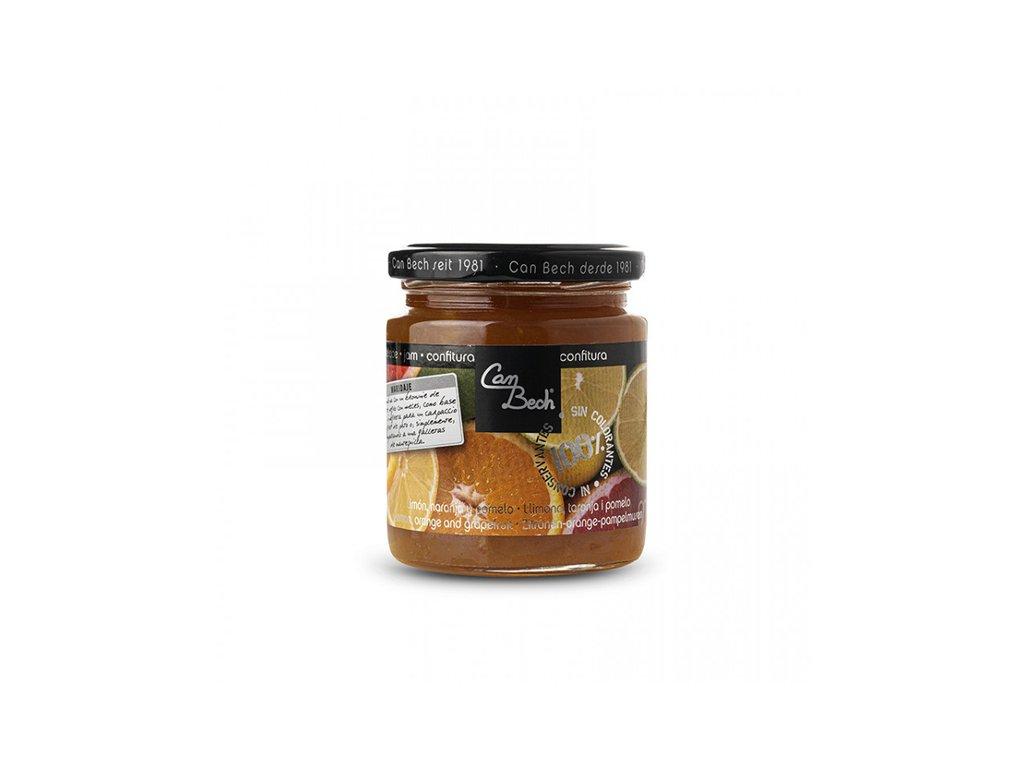 Can Bech Citrusový džem, sklo 300g