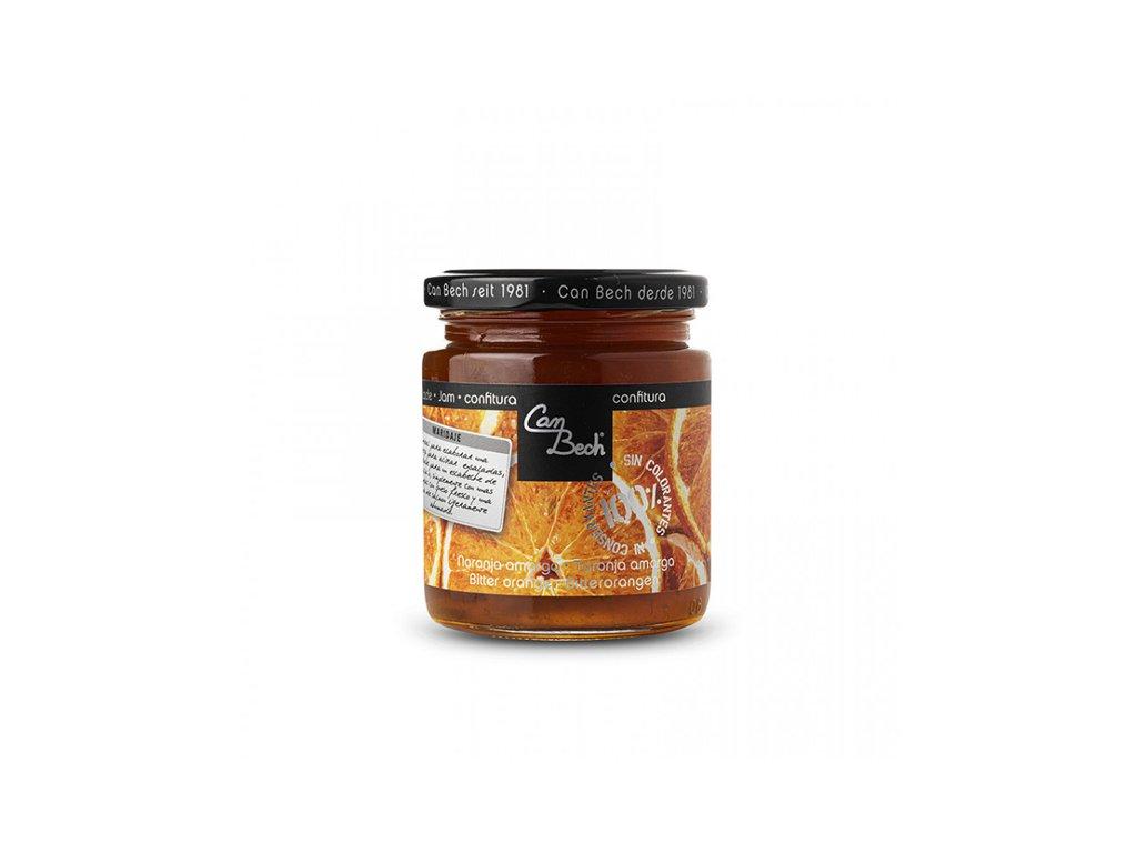 Can Bech Džem z hořkého pomeranče, sklo 285g