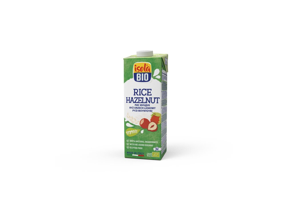 AKCE Nápoj rýžový lískooříškový 1000 ml BIO  BIO ISOLA