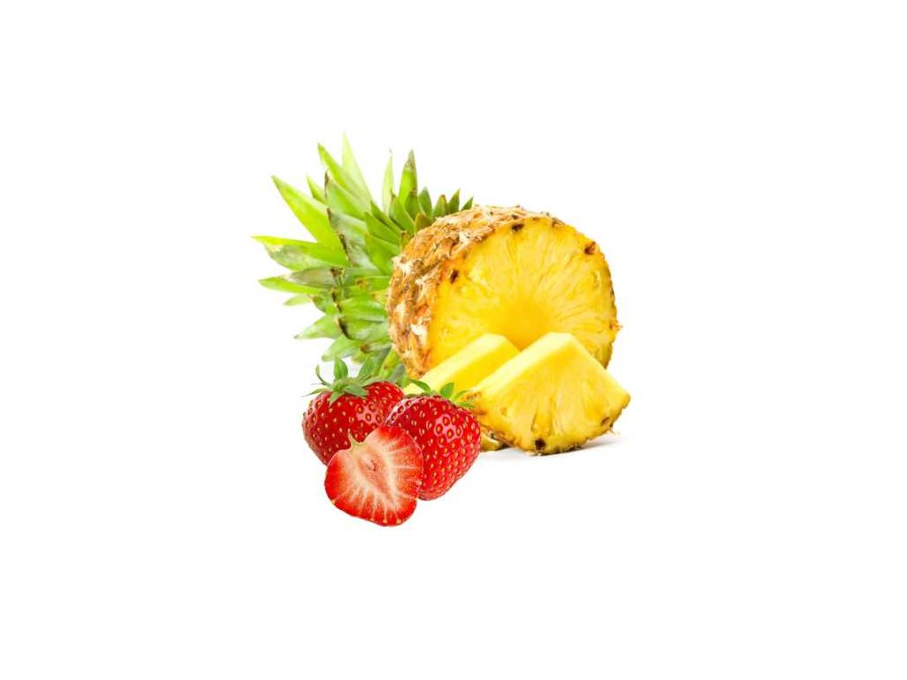 Ananas plátky - jahoda Puritas® 250g Doy pack ZIP