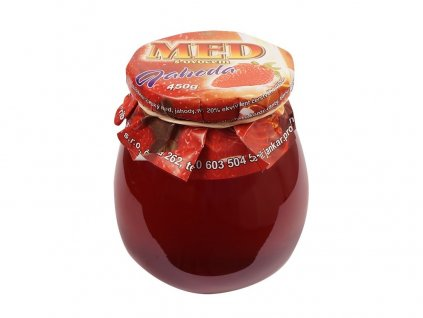 Med s ovocem jahodový 400 g Jankar Profi