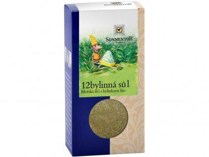 Bio 12-bylinná sůl 120g Sonnentor