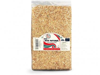 Bio Rýže natural krátká 1 kg Sunfood