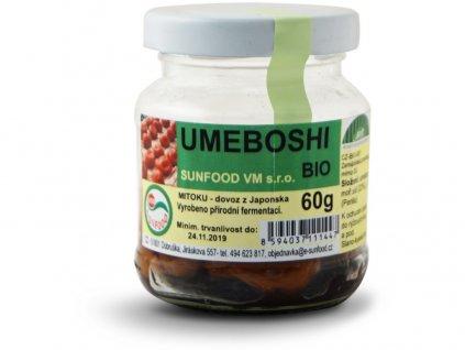 Bio Umeboshi, sklo cca 60g Sunfood