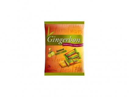 Gingerbon 125 g citron s medem Gingerbon