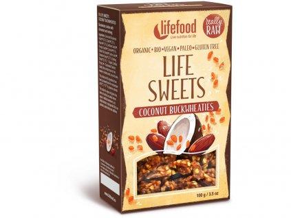 Bio Life sweets pohánky kokosové 100g Lifefood