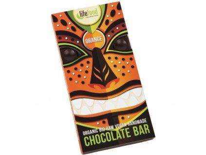 Bio Lifefood Chocolate pomerančová 70g Lifefood