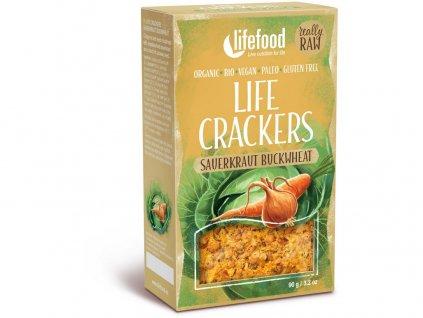 Bio Life Crackers Zelňáky RAW 90g Lifefood
