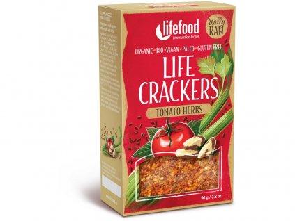 Bio Life crackers rajčatové 90g Lifefood