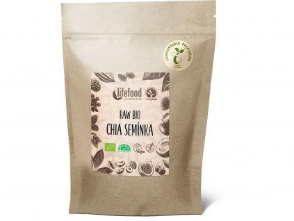 Bio Chia semínka 250 g Lifefood