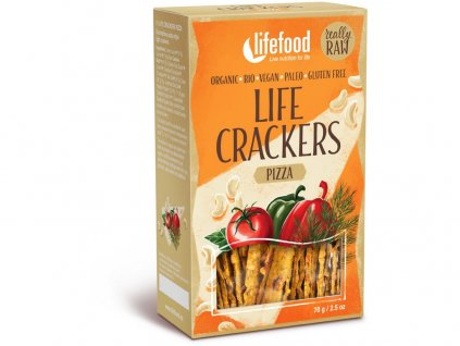 Bio Life crackers á la pizza 70g Lifefood