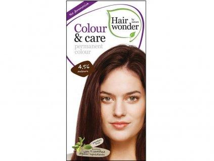 Přírodní dlouhotrvající barva Kaštanová 4,56 100ml Hair Wonder