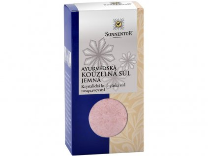 Ayurvédská kouzelná sůl jemná 150g Sonnentor