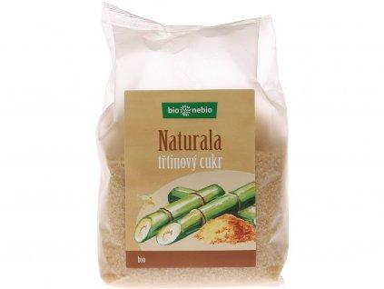Bio Naturala přírodní třtinový cukr 400g Bio nebio