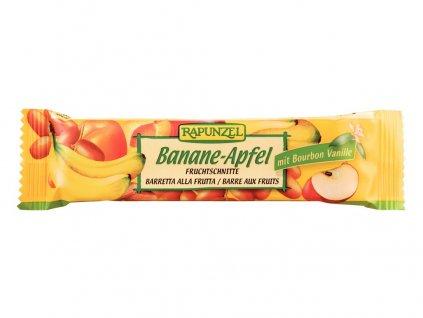 Bio tyčinka Banán-Jablko 40g Rapunzel