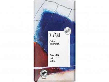Bio Mléčná čokoláda 100g Vivani