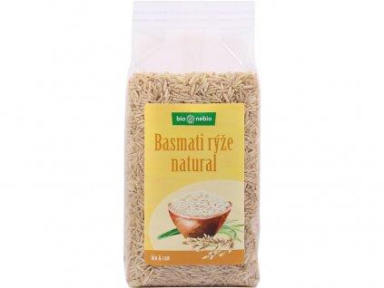 Bio Rýže Basmati natural 500g Bio nebio