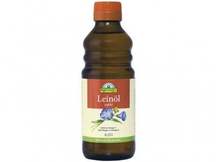 Bio lněný olej lisovaný za studena 250ml Rapunzel