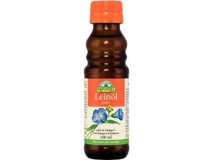 Bio lněný olej lisovaný za studena 100ml Rapunzel