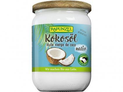 Bio Kokosový olej nerafinovaný 400g Rapunzel