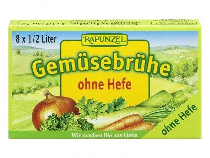 Bio Zeleninový vývar bez droždí v kostce 8ks Rapunzel