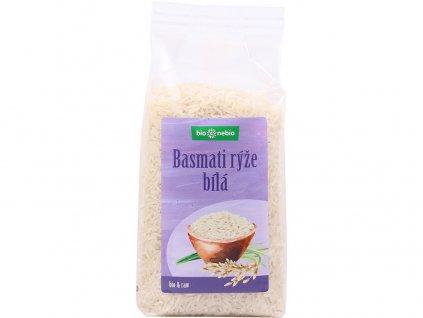 Bio Rýže Basmati bílá 500g Bio nebio