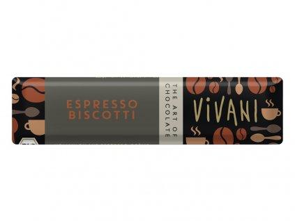 Bio tyčinka Čokoládová s espresso náplní 40g Vivani