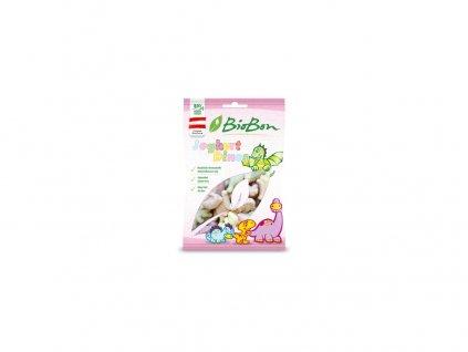Bio gumové bonbony Jogurtoví dinosauři 80g Bio-bon