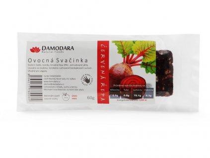 Tyčinka Ovocná svačinka červená řepa 60g Damodara