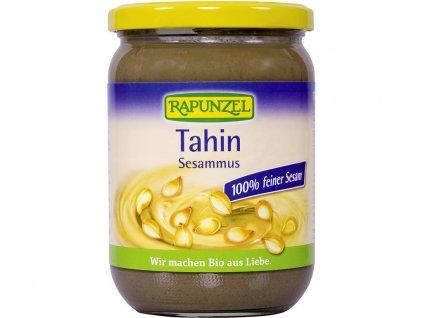 Bio Tahini - 100%-ní sezamová pasta bez soli 500g Rapunzel