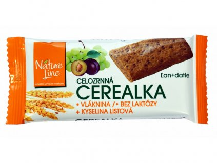 Cerealka sušenka celozrnná 30g Nature Line