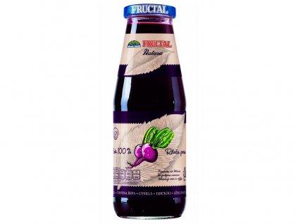 Šťáva NATURA červená řepa 100% 0,7l Fructal