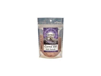 Himálajská sůl černá Kala namak 100g Cereus