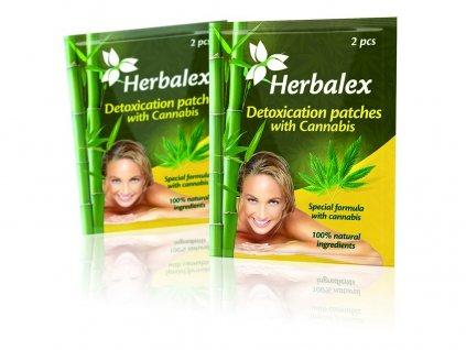 Detoxikační náplasti s konopím Heralex