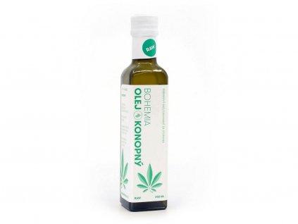 Konopný olej 250ml Bohemia olej