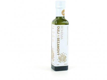 Sezamový olej 250 ml Bohemia olej