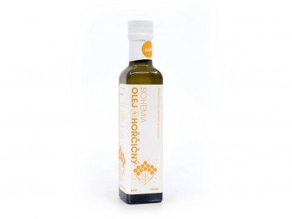 Hořčičný olej 250ml Bohemia olej