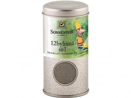 Bio 12-ti bylinná sůl 75g - v dóze Sonnentor
