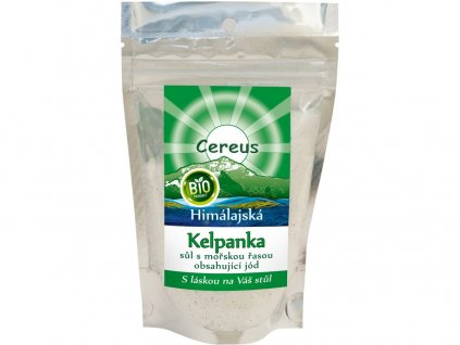 Bio Himalájská sůl mletá Kelpanka- s mořskou řasou 200g Cereus