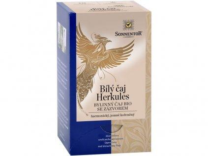 Bio Bílý čaj Herkules se zázvorem 27g Sonnentor