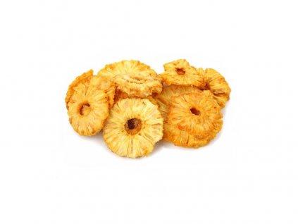 Ananas kolečka natural 3kg Sušené plody