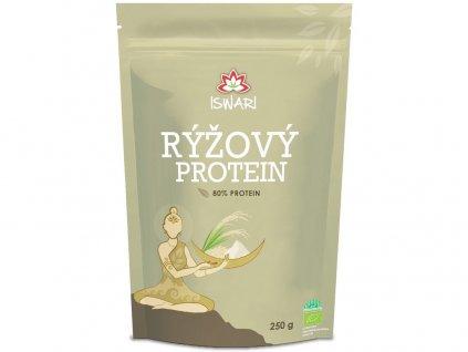 Bio Rýžový protein 80% 250g Iswari