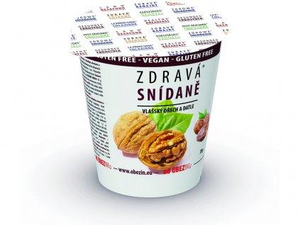 Zdravá snídaně - Vlašský ořech /datle 78g Obezin