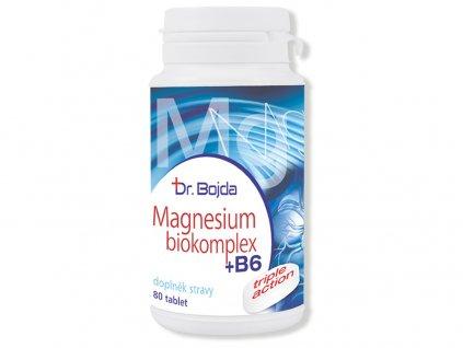 Magnesium Biokomplex + B6 80 tbl. Dr. Bojda