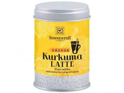 Bio Kurkuma Latte-zázvor 60g dózička (Pikantní kořeněná směs) Sonnentor